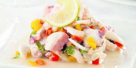 Salat Fisch